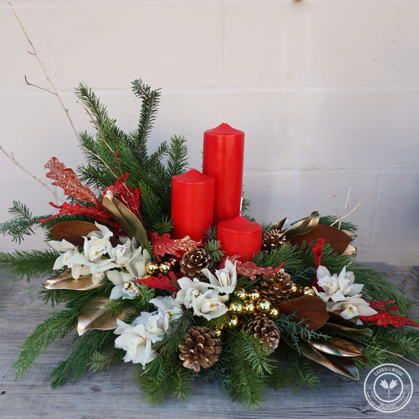 A  few of our favorite… Christmas Centerpieces!