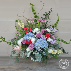 Whimsical Blooms Basket