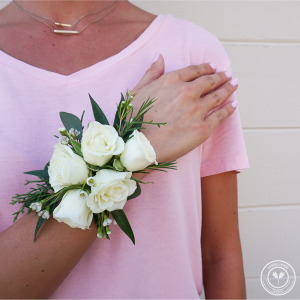 Traditional Rose Corsage